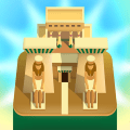 Merge of Ages - Click and Idle 2048 Town Tycoon Icon