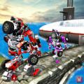 Underwater Robot Transform Future Transport Game Icon
