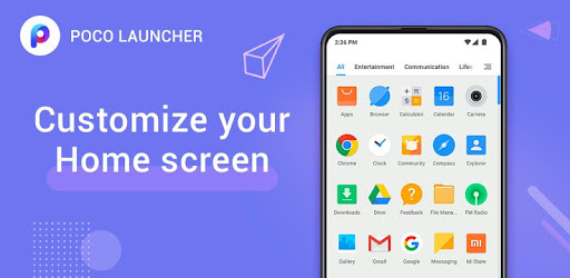 POCO Launcher 2.0- Customize,  Fresh & Clean apk