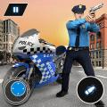 US Police Bike Chase 2020 Icon