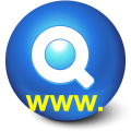 Domain Name Search Icon