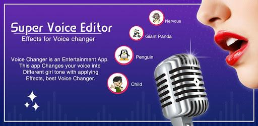 Super Voice Editor : Voice Changer - Audio Effect apk