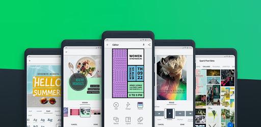 Adobe Spark Post: Poster & Graphic Design Editor apk