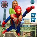 Spider Robot Superhero Crime CIty Rescue Mission Icon