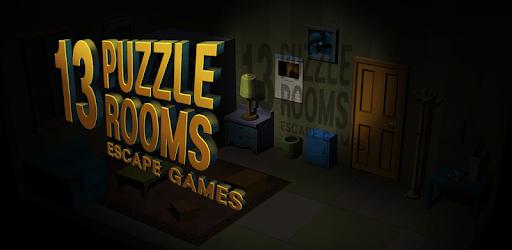 13 Puzzle Rooms: Escape game apk