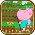 Kids family farm Icon