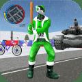 Santa Claus Rope Hero Vice Town Fight Simulator Icon