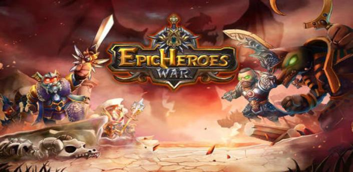 Epic Heroes War: Action + RPG + Strategy + PvP apk
