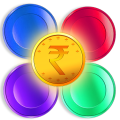 Color Pins - Earn Free Cash and Mobile Recharge Icon