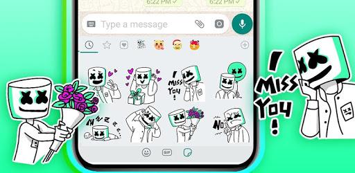 Cool Dj Life Emoji Stickers apk