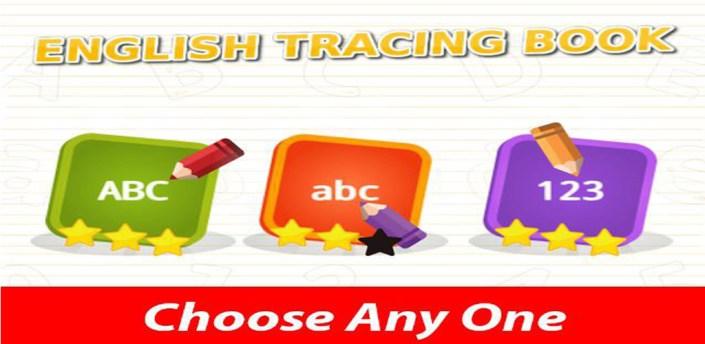 ABC  Alphabet  Tracing Book apk