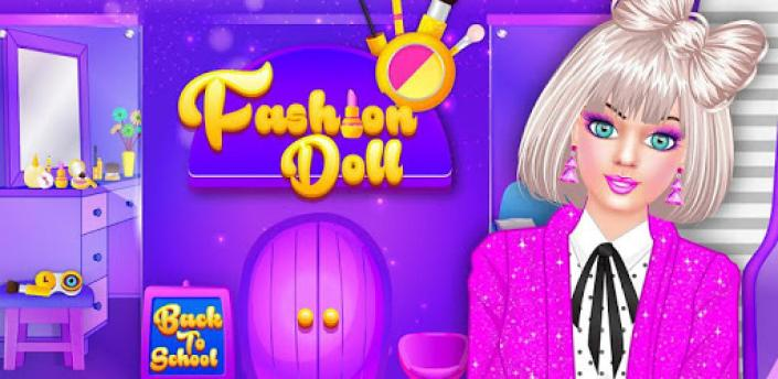 Fashion Doll - Back to School Dress Up Game apk