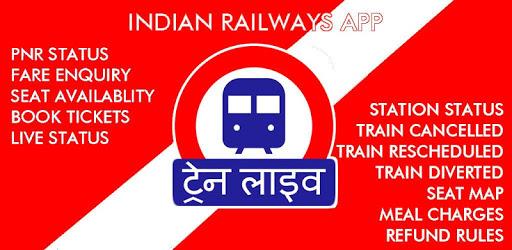 Indian Railway Timetable - Live train location apk