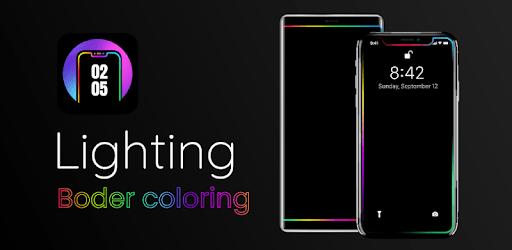Edge Lighting Colors - Round Colors Galaxy apk