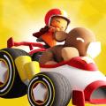 Starlit On Wheels: Super Kart Icon
