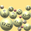 3D Roll Ball - 2048 Merge Puzzle Icon