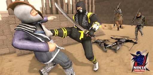 Superhero Ninja Arashi with Samurai Assassin Hero apk