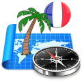 French Riviera Offline Map Icon