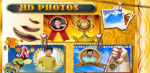 Medal Winner Photo Frames apk