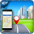 GPS Navigation Tracker Free Route Finder Icon