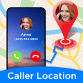 Phone Number Locator - Caller ID & Call Blocker Icon