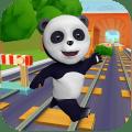 Talking Panda Run Icon