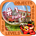 Pack 1 - 10 in 1 Hidden Object Games by PlayHOG Icon