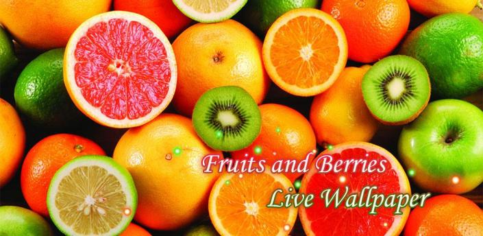 Fruits and Berries Live Wallpaper apk