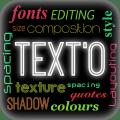TextO Pro - Write on Photos Icon
