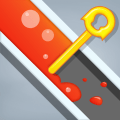 Color Fall - Pin Pull Icon