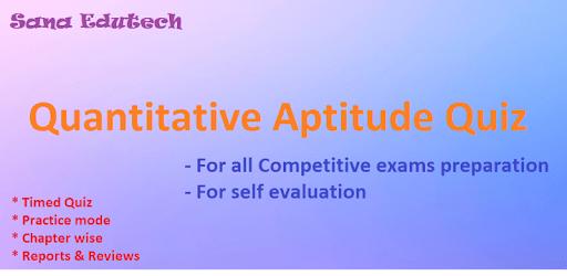 Quantitative Aptitude Quiz apk