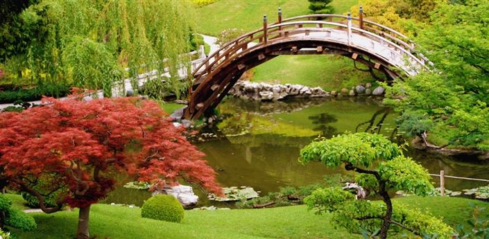 Japanese Gardens Wallpaper apk