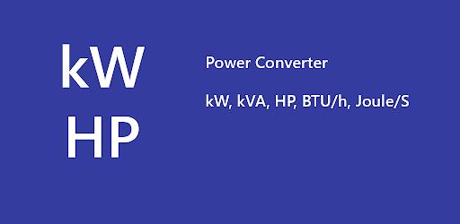 kw to hp to watt : Power Converter apk