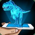 Hologram Dino Park Simulator Icon