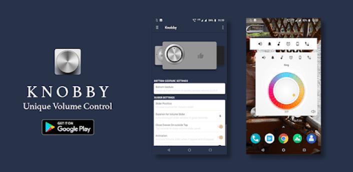Knobby free - knob volume control - volume widget apk