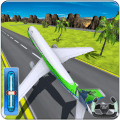 Airplane 3D Fly Sim – City Flight Adventure Games Icon