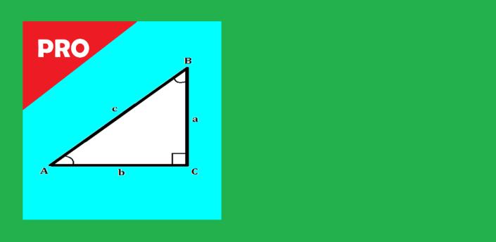 Right Angled Triangle Calculator and Solver - PRO apk
