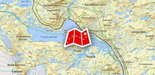 Norgeskart apk