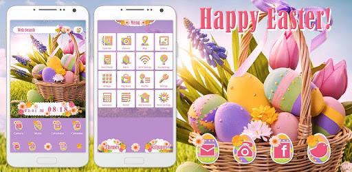 Cute Theme-Happy Easter!- apk