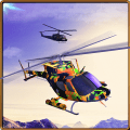 City Helicopter Flight Tour 3D Icon