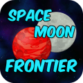 Space Moon Frontier Icon