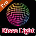 Disco light with flashlight Icon