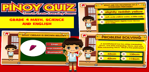 Pinoy 4th Grade Learning Games apk