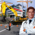 City Hospital Building Construction Building Games Icon