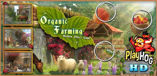 # 28 Hidden Objects Games Free New Organic Farming apk