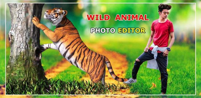 Wild Animal Photo Editor - Animal Photo Frames New apk