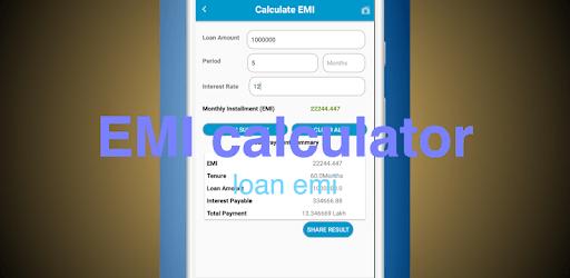 EMI Calculator - loan calculator apk