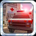 Emergency Ambulance Driver 3D Icon
