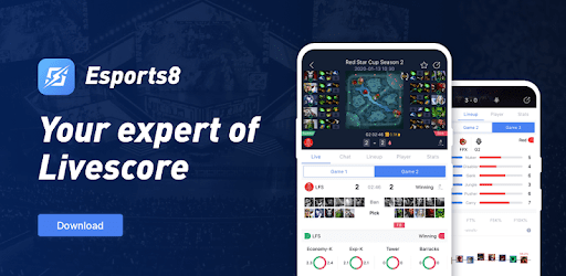 Esports8 - Live Scores & Tournaments for eSports apk