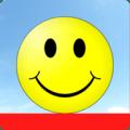 happy jumping emoji :) Icon